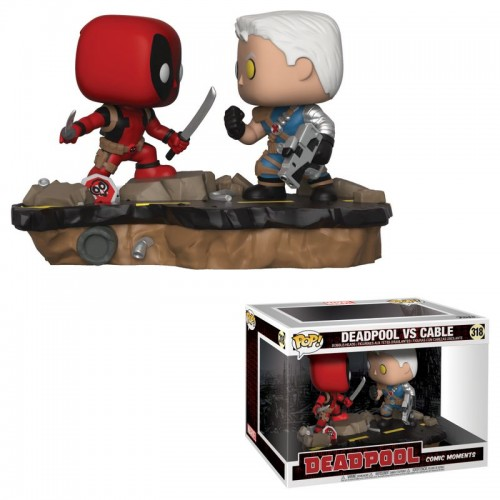 Funko Pop! Deadpool - Deadpool vs Cable / Фанко Поп: Дэдпул против Кейбла
