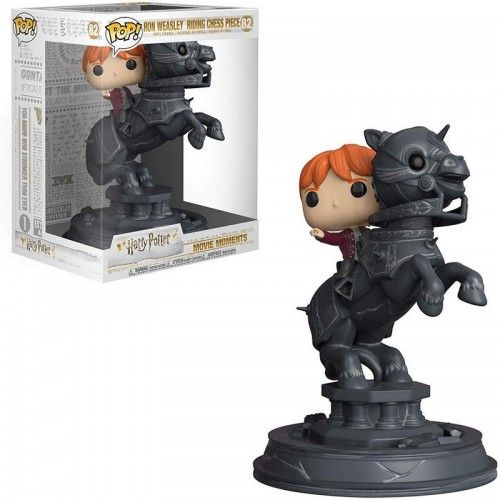 Funko Pop! Harry Potter - Ron riding Chess Piece / Фанко Поп: Гарри Поттер - Рон Уизли