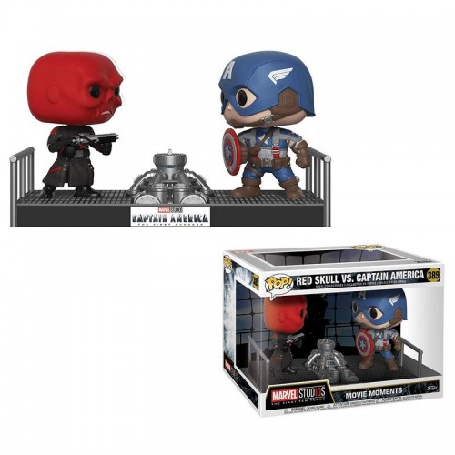 Funko Pop! Captain America - Red Skull vs Captain America / Фанко Поп: Капитан Америка - Красный Череп против Капитана Америки