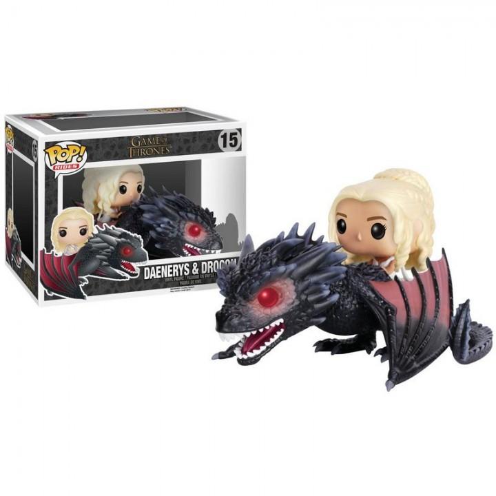 Funko Pop! Rides: Game of Thrones - Daenerys & Drogon / Фанко Поп: Игра престолов - Дейенерис и Дрогон