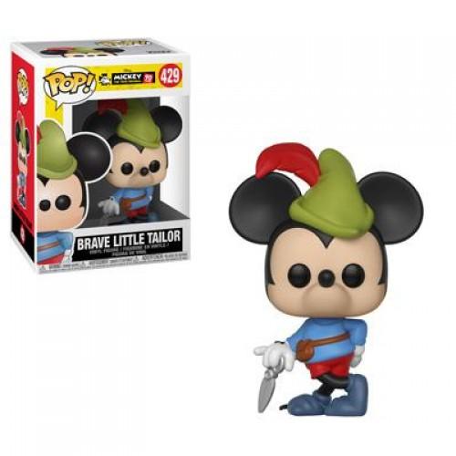 Funko Pop Disney: Mickey's 90th Birthday - Brave Little Tailor / Фанко Поп: Микки Маус