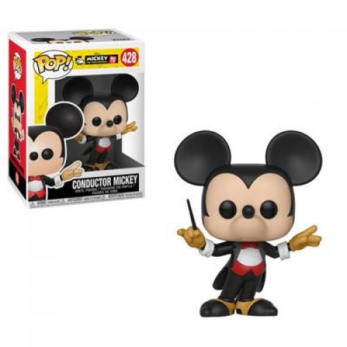 Funko Pop Disney: Mickey's 90th Birthday - Conductor Mickey / Фанко Поп: Микки Маус