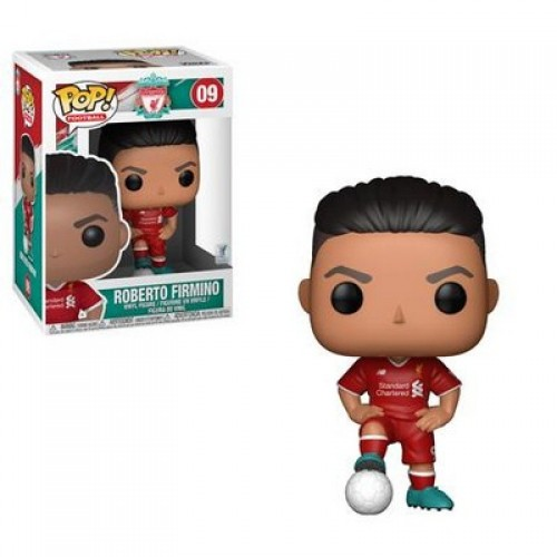 Funko Pop Football: Liverpool - Roberto Firmino / Фанко Поп: Ливерпуль - Роберто Фирмино