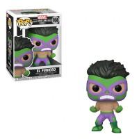 Фигурка Funko Pop Marvel Lucha Libre - El Furioso (Hulk) / Фанко Поп Луча Либре