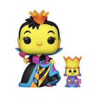 Фигурка Funko Pop Black Light Alice in Wonderland 70th - Queen of Hearts with King / Фанко Поп Алиса в Зазеркалье - Червонная Королева