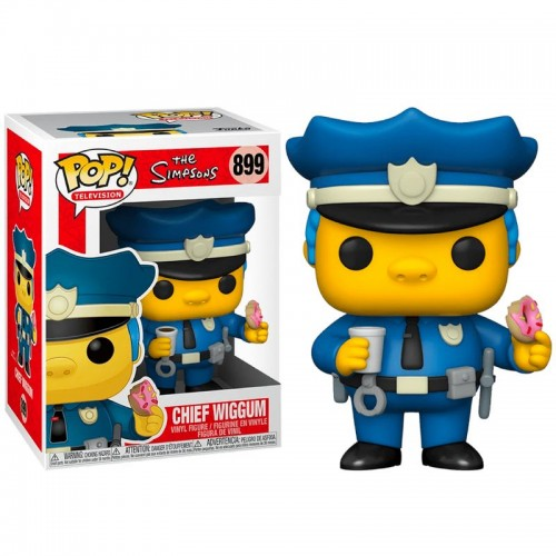 Фигурка Funko Pop Simpsons - Chief Wiggum / Фанко Поп Симпсоны - Виггам