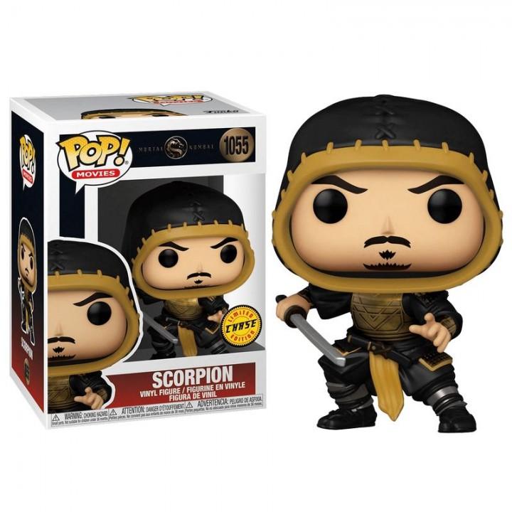 Фигурка Funko Pop Mortal Kombat Movie - Scorpion #53851C / Фанко Поп Мортал Комбат - Скорпион, 53851C