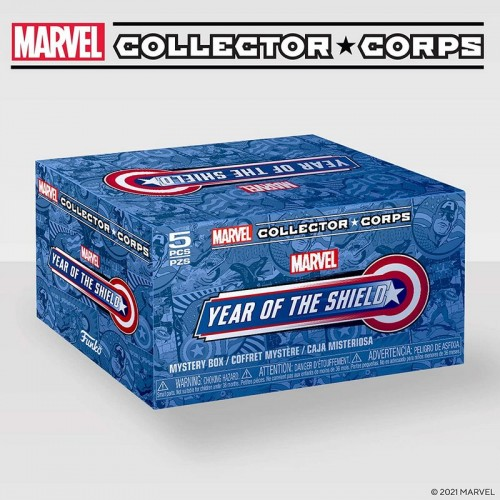 Funko Marvel Collector Corps Year of the Shield Box / Коробка Фанко Год Щита