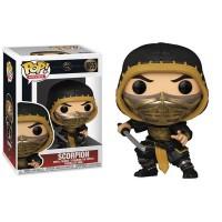 Фигурка Funko Pop Mortal Kombat Movie - Scorpion Mint / Фанко Поп Мортал Комбат - Скорпион
