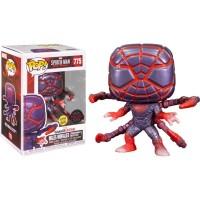 Фигурка Funko Pop Spider-Man Miles Morales Game (Programmable Matter Suit) #54436 / Фанко Поп Человек-паук Майлз Моралес