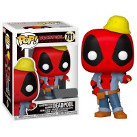 Фигурка Funko Pop Deadpool 30th (Construction Worker) / Фанко Поп Дэдпул