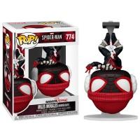 Фигурка Funko Pop Spider-Man Miles Morales Game (Winter Suit) #54291 / Фанко Поп Человек-паук Майлз Моралес