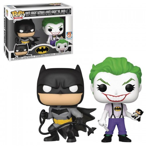 Фигурка Funko Pop Batman - White Knight and The Joker / Фанко Поп Бэтмен - Белый Рыцарь и Джокер