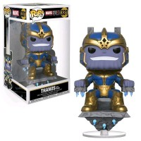 """Фигурка Funko Pop Marvel Studios 10th - Thanos with Throne 8"""" / Фанко Поп Танос"""