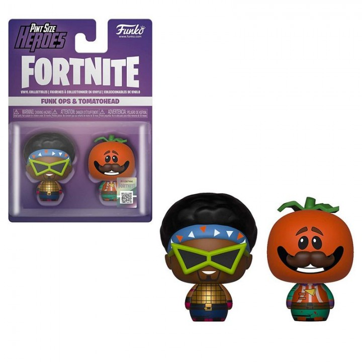 Funko Pint Size Heroes: Fortnite - Funk Ops & Tomatohead / Фанко Fortnite