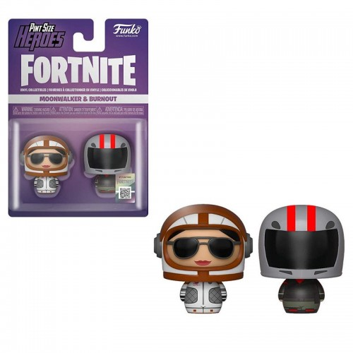 Funko Pint Size Heroes: Fortnite - Moonwalker & Burnout / Фанко Fortnite