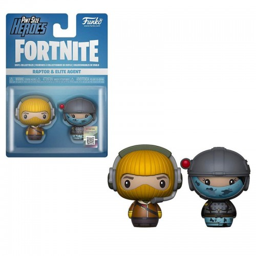 Funko Pint Size Heroes: Fortnite - Raptor & Elite Agent / Фанко Fortnite