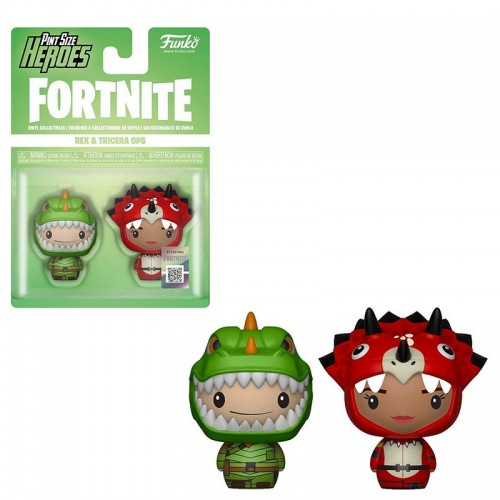 Funko Pint Size Heroes: Fortnite - Rex & Tricera Ops / Фанко Fortnite