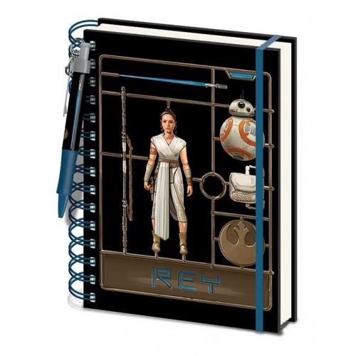 Блокнот Pyramid International Star Wars: Rise of Skywalker - Rey