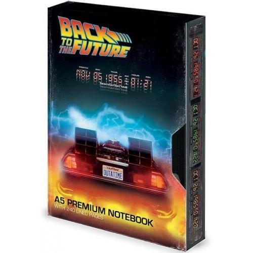 Блокнот Pyramid International Back to the Future - VHS Premium