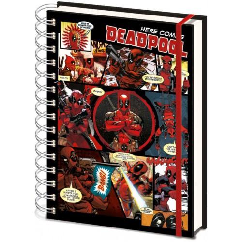 Блокнот Pyramid International Marvel - Deadpool Comics