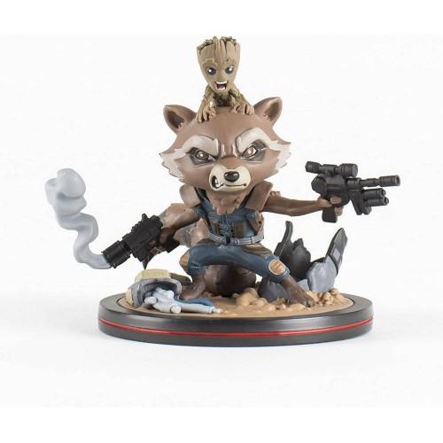 QMx Rocket and Groot (Guardians of the Galaxy) / Фигурка Ракета и Грут (Стражи Галактики)