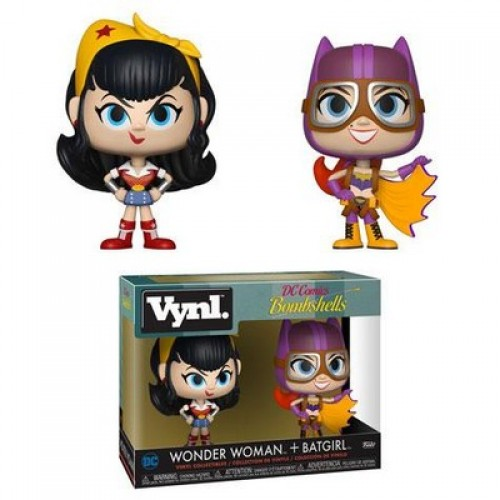 Funko Vynl: DC Comics Bombshells - Wonder Woman & Batgirl / Фанко: Чудо-женщина и Бэтгёрл