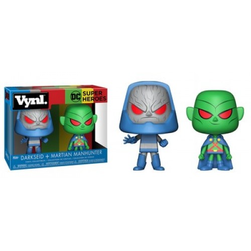 Funko Vynl: DC - Martian Manhunter & Darkseid / Фанко: Марсианский Охотник и Дарксайд
