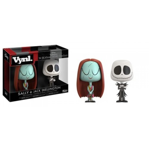 Funko Vynl: Nightmare Before Christmas - Jack & Sally / Фанко: Кошмар перед Рождеством - Джек Скеллингтон и Салли