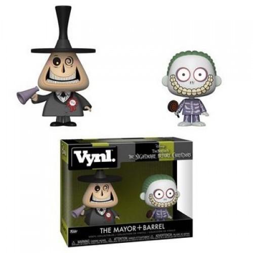 Фигурка Funko Vynl Nightmare Before Christmas - The Mayor and Barrel