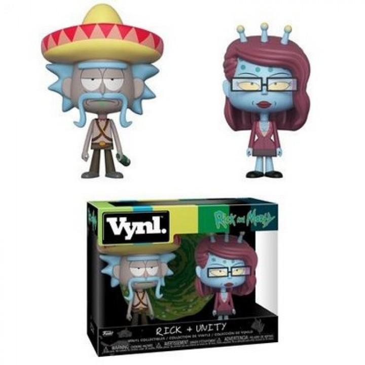 Фигурка Funko Vynl Rick and Morty with Unity, 32267