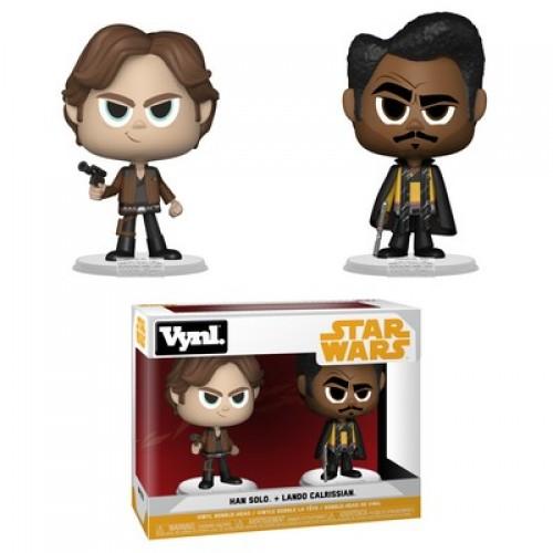Funko Vynl: Star Wars - Han Solo & Lando Calrissian / Фанко: Звёздные войны: Хан Соло и Лэндо Калриссиан