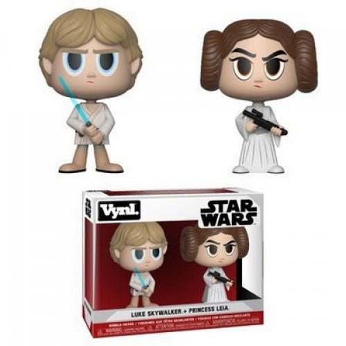 Funko Vynl: Star Wars - Princess Leia & Luke Skywalker / Фанко: Звёздные войны: Люк Скайуокер и Лея Органа