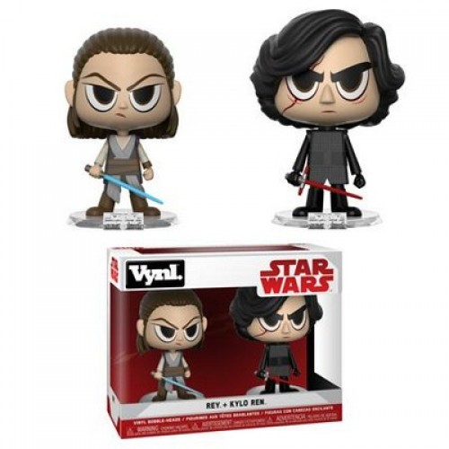 Фигурка Funko Vynl Star Wars - Rey and Kylo Ren