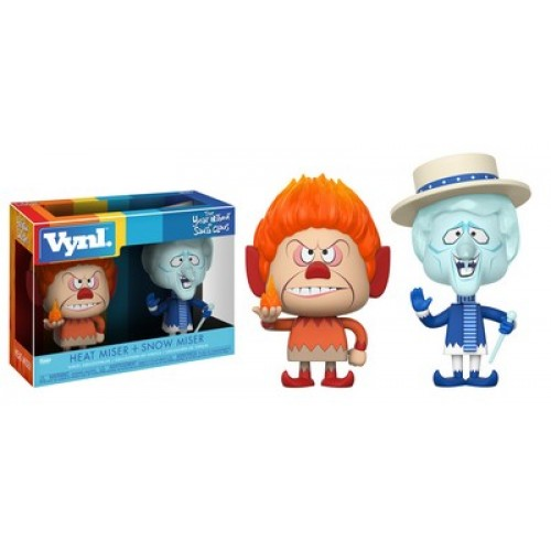 Фигурка Funko Vynl Year without a Santa Claus - Heat Miser and Snow