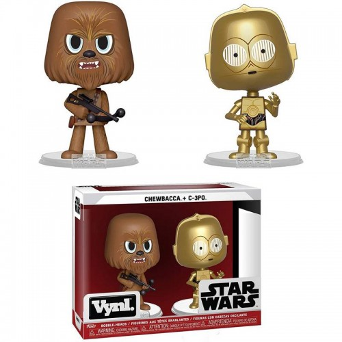 Фигурка Funko Vynl Star Wars - Chewbacca and C-3PO