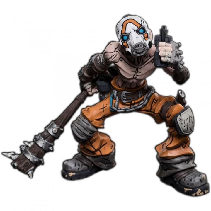 Фигурка Weta Workshop Borderlands 3 - Psycho Bandit, 105003034