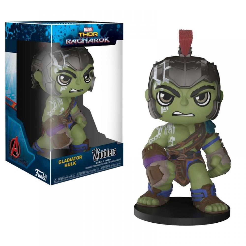 Funko POP Pocket Keychain Thor Ragnarok Gladiator Hulk Figure